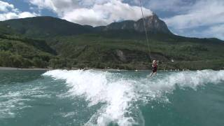 Windsurf, Wake et Kite... mer à la montagne !