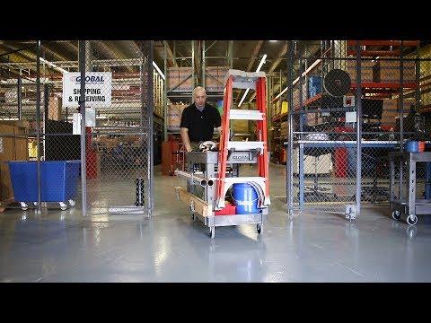 Plastic Service & Utility Carts - Globalindustrial.com