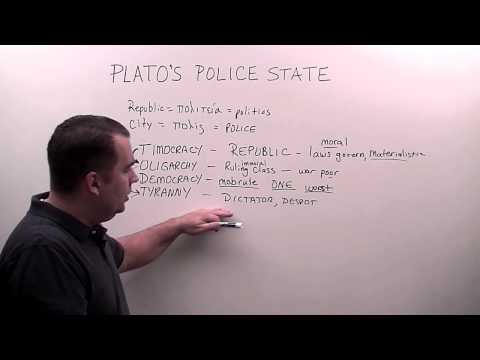 Plato's Police State