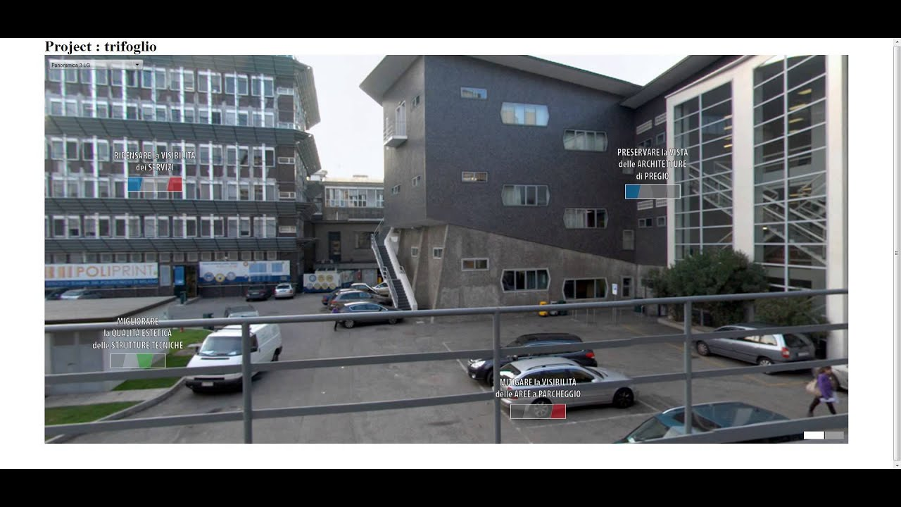 Politecnico di milano area bonardi trifoglio urban for Politecnico milano design della moda