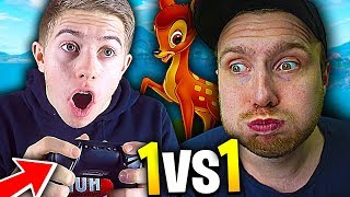 TU PERDS THE 1V1 TO THE MANETTE, TU PAYES TON SKIN ON FORTNITE BATTLE ROYALE !!! (Ft. Jazy Doc)