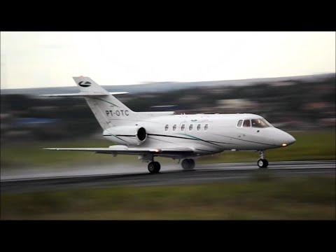 Decolagem - Hawker 800 - PT-OTC