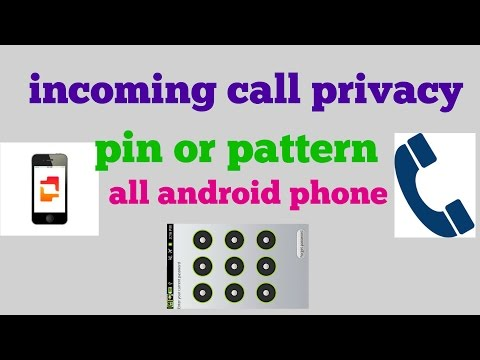 Do you have any incoming call privacy?