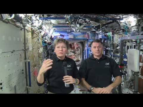Space Station Crew Discusses Life in Space with Fox News - NASA