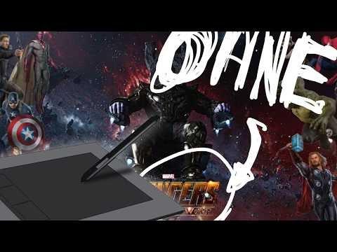 AVENGERS ohne AVENGERS? - Doctor Strange 2 - Livedrawing #KreativCommunity!