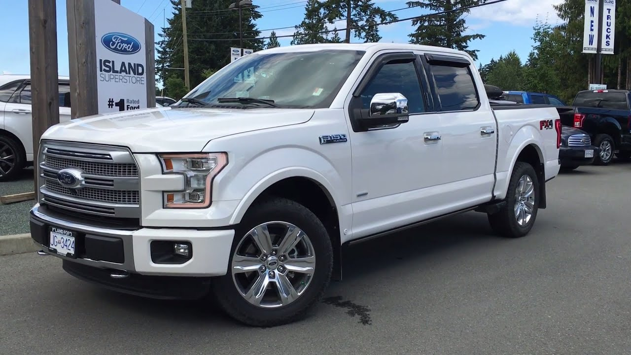 2016 Ford F 150 Platinum SuperCrew 4X4 Massaging Seats Review