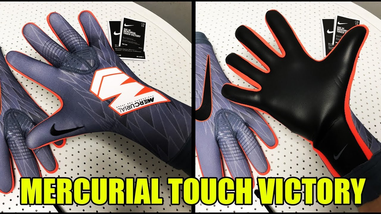 suspicaz constructor Comunista  Nike Mercurial Touch Victory Review Nuevo Color - Guantes Portero Nike -  YouTube