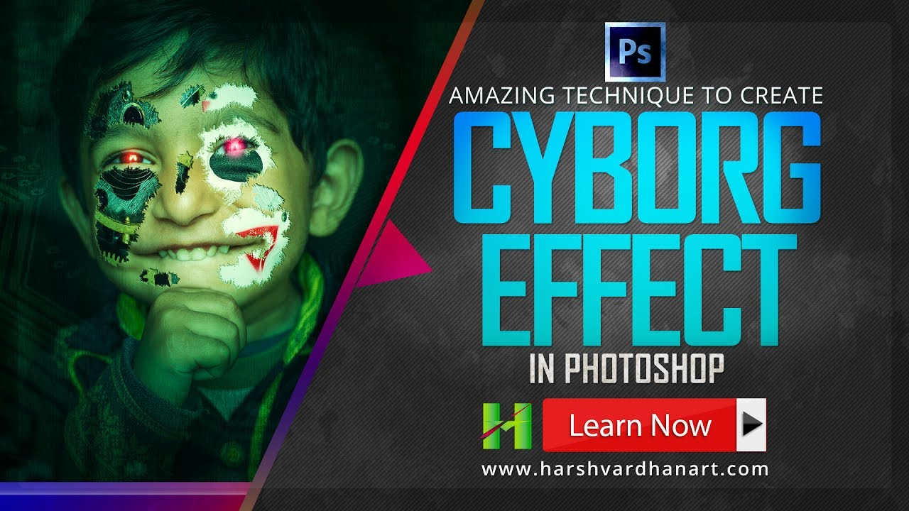 Photoshop tutorials photo effects how to create cyborg effect in photoshop tutorials photo effects how to create cyborg effect in photoshop for beginners baditri Image collections