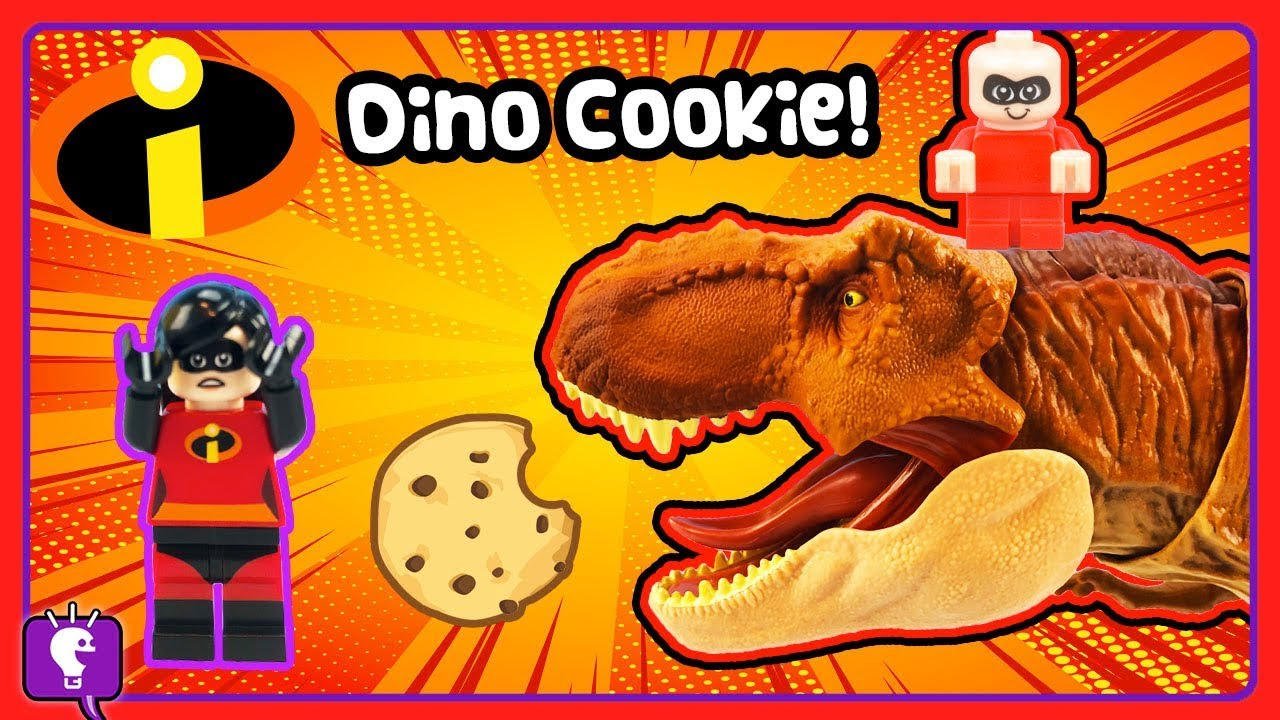JACK JACK Gets a Cookie From His Pet Dino Rexy on HobbyKidsTV