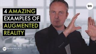 4 أمثلة مذهلة كيف AR يستخدم في الأعمال لخلق تجربة أفضل للعملاء
