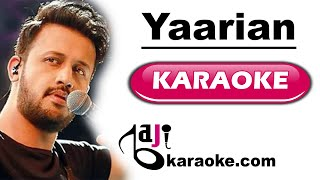 Yaarian - ISPR Defense Day Song - VIDEO Karaoke - Atif Aslam and Ali Zafar - by BajiKaraoke