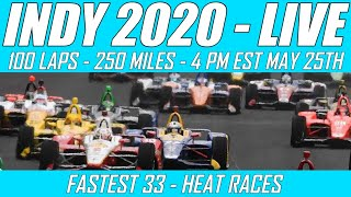 Iracing Indy 2020 -- Live