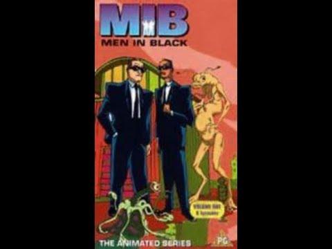 Original VHS Opening: Men In Black - The Animated Series: Volume 1 (UK Retail Tape)