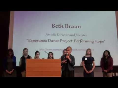 Women in Leadership Summit 2013: Beth Braun and the Esperanza Dance Company