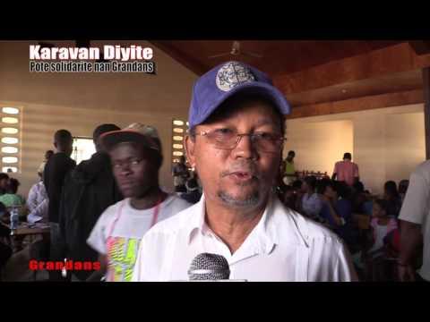 Karavan Diyite pote solidarite nan Grandans