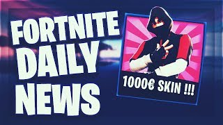 Fortnite Daily News *GALAXY S10* EXCLUSIVE 1000€ SKIN (21 Februar 2019)