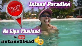 You Are Here! Island Paradise Ko Lipe Thailand