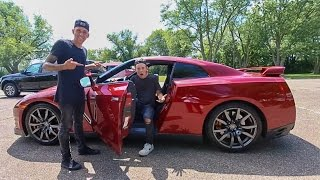 DRIVING ROMAN ATWOOD'S GTR!