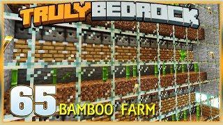 Truly Bedrock S1E65 Bamboo Farming | Minecraft Bedrock Edition SMP, MCPE, MCBE