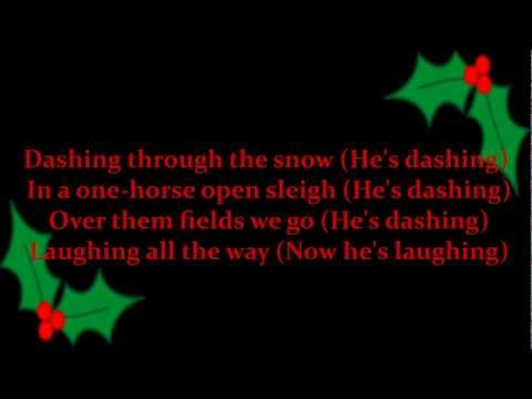 Jingle Bells (Brian Setzer Orchestra Karaoke) .wmv