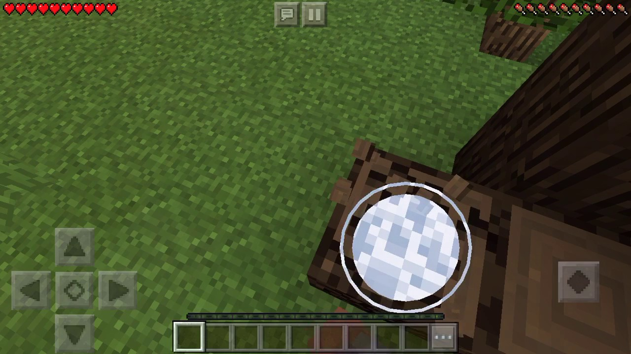 Minecraft Pe How To Make A Crafting Table Youtube