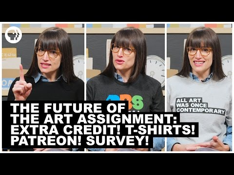 The Future of The Art Assignment: Extra Credit! T-Shirts! Patreon! Survey!