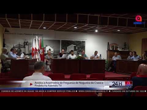 ASSISTA À ASSEMBLEIA DE FREGUESIA DE NOGUEIRA DO CRAVO E PINDELO