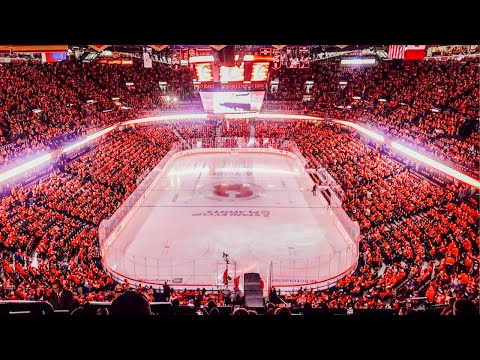 Our First Hockey Game in Canada - CALGARY FLAMES