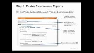 Отслеживание электронной торговли - уроки Google Analytics на русском (12)