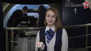 Анна на самолете. Первая девушка-пилот из ульяновского института гражданской авиации покоряет небо