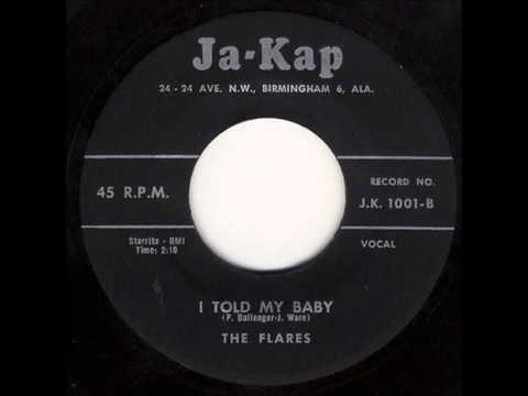 Flares - September Love - Ja-Kap 1001 - 1958