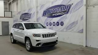 Pre-owned 2014 Jeep Grand Cherokee Summit W/ 3.0L EcoDiesel Overview | Boundary Ford