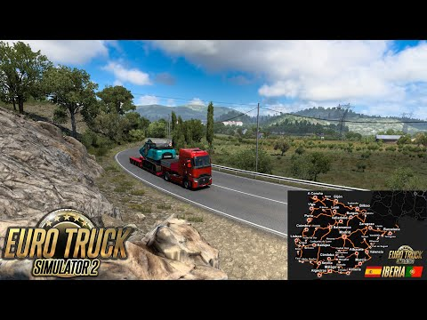 ✅ Iberia DLC First Look | Euro Truck Simulator 2 | A Coruña to O Barco | Logitech G27 +TrackIR 5 Pro |