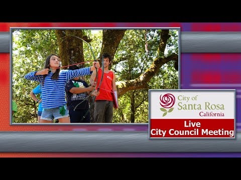 City of Santa Rosa Council Meeting May 1, 2018