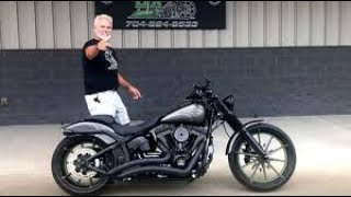 😈 #Harley-Davidson #Breakout Cruiser #custom by The Bike Exchange
