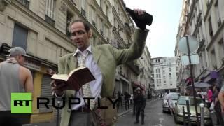 France: Riots turn Paris streets into war-zone