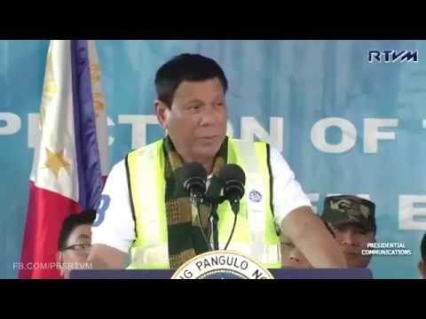 SPEECH: President Rody Duterte Inspection of the Buluan Biomass Power Plant Project July 22 2016