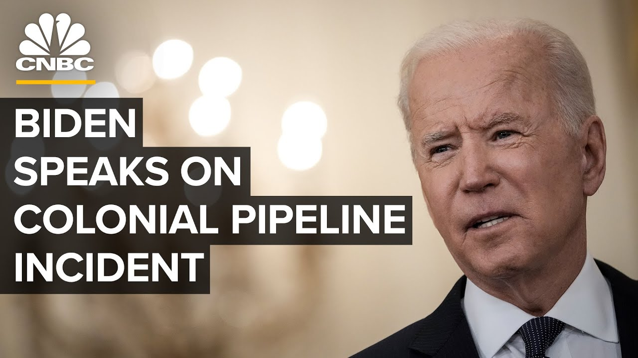 President Biden delivers remarks on the Colonial Pipeline incident — 5/13/2021