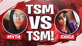 TSM vs TSM IN THE CODE RED TOURNAMENT! Ft. Kaysid, Chica & Morgausse (Fortnite BR Full Match)