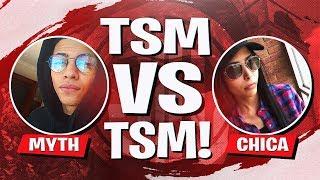 TSM vs TSM IN THE CODE RED TOURNAMENT! Ft. Kaysid, Chica et Morgausse (Fortnite BR Full Match)