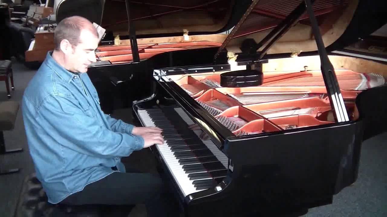 test du piano queue feurich f178 1ere partie youtube. Black Bedroom Furniture Sets. Home Design Ideas