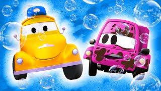 Mała Suzy - Myjnia Samochodowa Toma Holownika| Bajki samochodowe dla dzieci