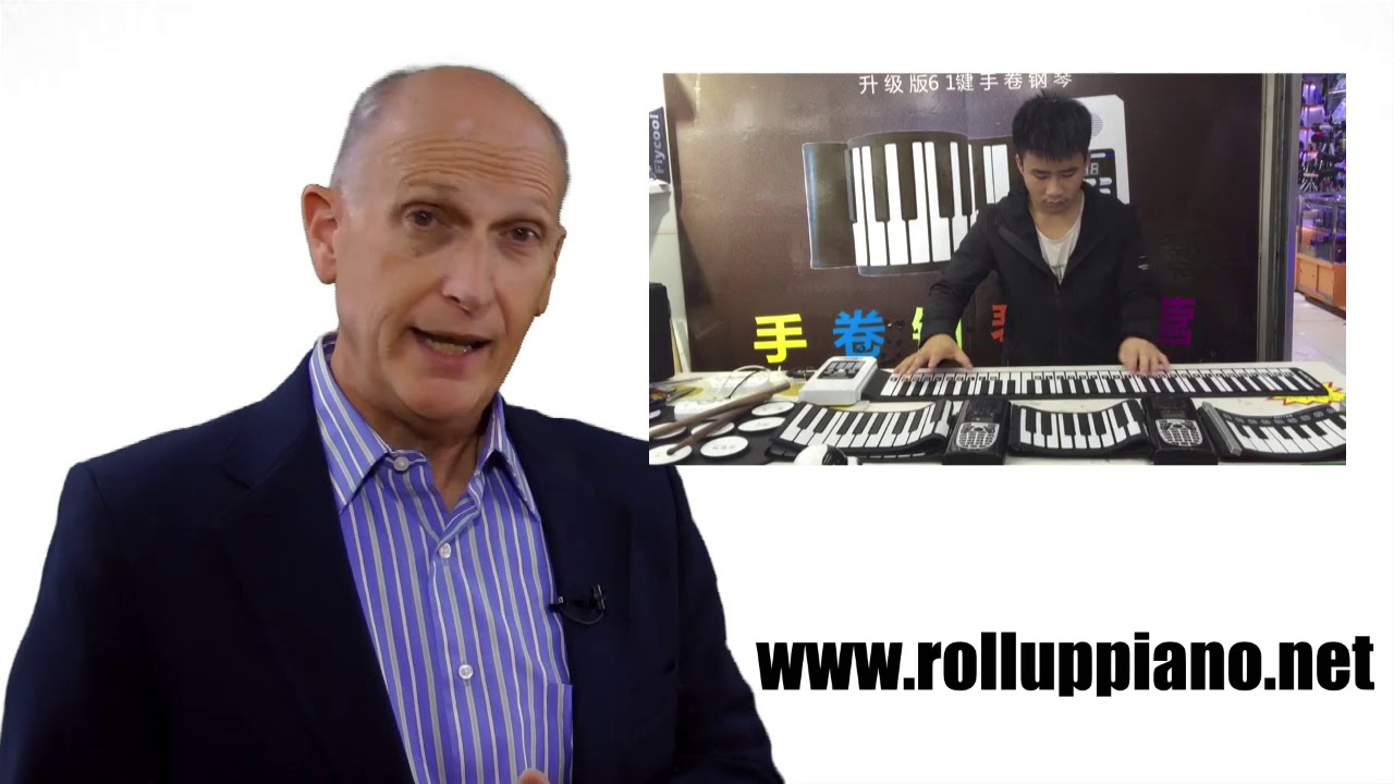 Roll Up Piano Product function introduction