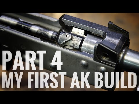My First AK Build: Part 4 Riveting