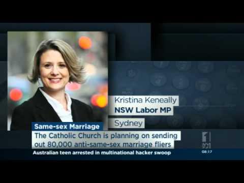 Keneally believes in merits of gay marriage