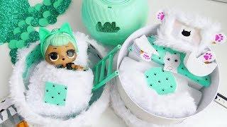 ПУШИСТЫЙ ДОМ LOL Surprise для куклы ЛОЛ Кошечки .#Lolsurprise Dolls .  Видео для детей