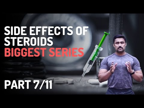 BIGGEST EVER SERIES ON SIDE EFFECTS OF STEROIDS  PART-7/11- WATER RETENTION & VOICE CHANGE