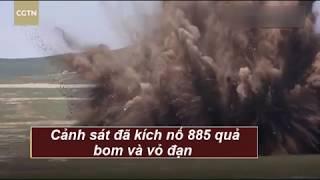 885 quả bom từ thời thế chiến 2 đồng loạt nổ ở Trung Quốc-  kienthucphongchay.com