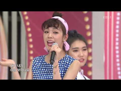 Lizzy in National Singing Contest