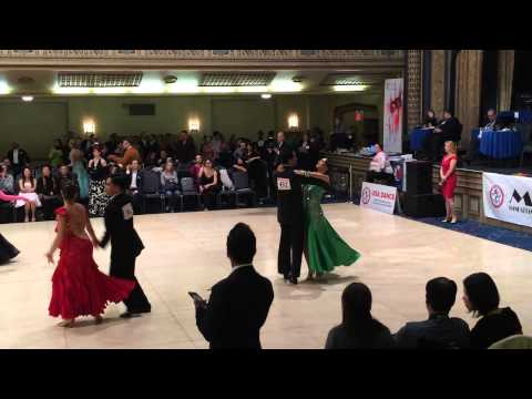 MAC 2014 - Paul Freitas & Kelly Glasheen - Champ Smooth Waltz - Manhattan Amateur Classic